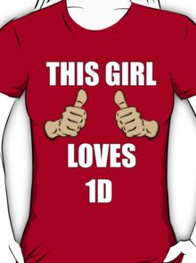 This Girl Loves One Direction T-Shirt