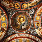 "Pantokrator in the ""Dark"" Church by Hercules Milas"