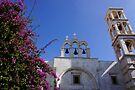 Panagia Tourliani Monastery by Nancy Richard