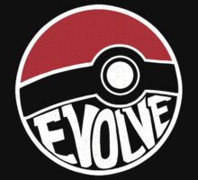 Evolve - Darwin Pokemon Shirt by BootsBoots