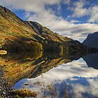 Buttermere in Autumn by Jamie  Green