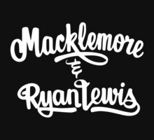 Macklemore and Ryan Lewis white by Zed Clarity