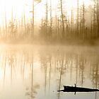 Sunrise On Middle Black Lake by Steve Mezardjian