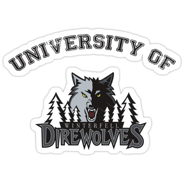 University Of Direwolves by Ramiartdesigns