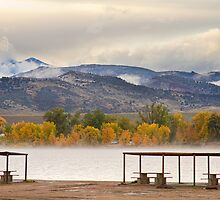 Foothills Reservoir Boulder County by Bo Insogna
