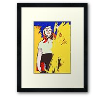 COMMUNIST PROPAGANDA  FUTURE  Framed Print