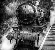 Under Steam Again. Mono. by Colin Metcalf