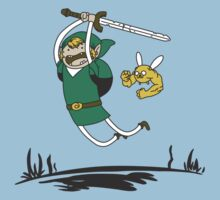 Adventure Time Legend of Zelda by MaxFantasy
