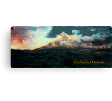 The Hobbit: The Lonely Mountain Canvas Print