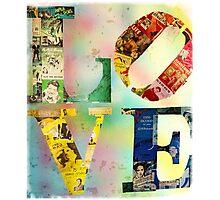 L O V E Photographic Print
