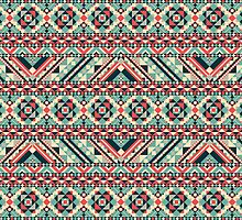 Aztec Pattern by TilenHrovatic