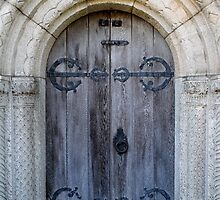 Cemetery door 9 by Kelly Morris