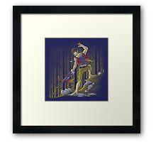 Banjo Dixon Framed Print