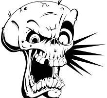 Psycho skull by endurdog