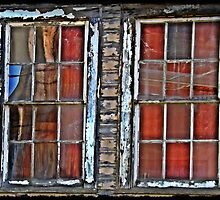 Airmen's Bunker Windows WWII by dianegaddis