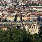 Rooftops of Lyon by CreativeUrge