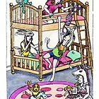 KMAY Hoodkids Girls Sleepover by Katherine May