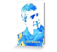 john watson - the heart Greeting Card