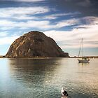 Morrow Rock in Morrow Bay, California by Light Right Photos