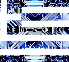 circuit board greece (Flag) by sebmcnulty