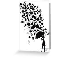 Singin' in the Rain Greeting Card