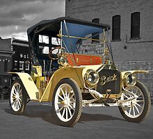 1910 Buick Roadster in Old Town by DaveKoontz