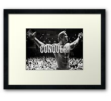 Conquer Framed Print