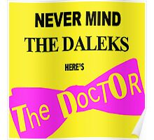 Never Mind the Daleks! Poster