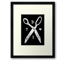Do It Yourself Framed Print