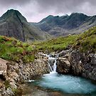 The Fairy Pools Waterfalls, Isle of Skye by derekbeattie