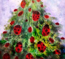 where ladybugs sleep in winter by rysunki-malunki