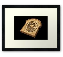 Mortal Kombat - Toasty Framed Print