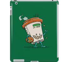 Pumpkin Spice Latte Bot iPad Case/Skin