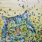 CAT in the GRASS by lautir