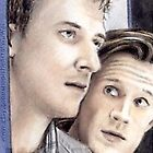 Arthur Darvill & Matt Smith miniature by wu-wei