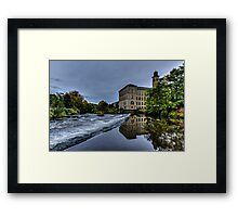 Salts Mill Saltaire Framed Print