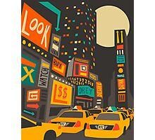 Time Square Photographic Print