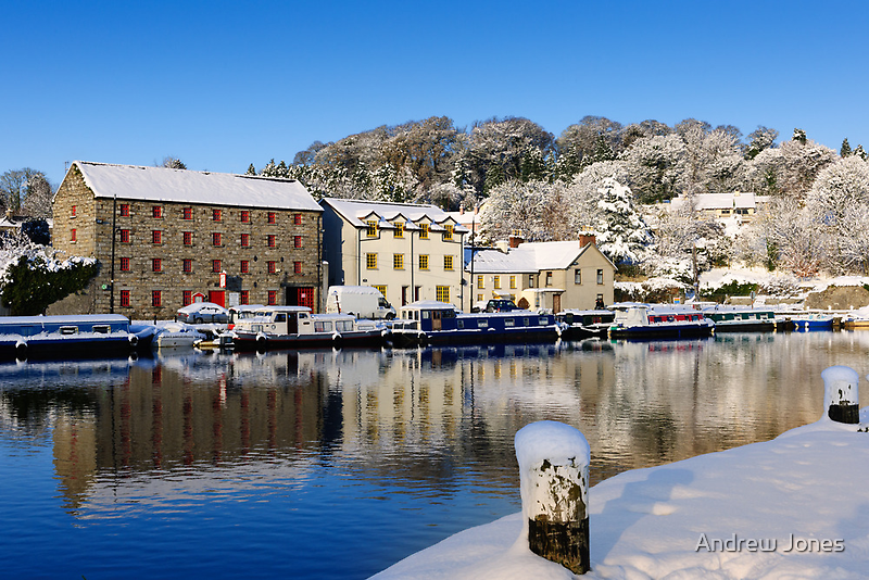Waterside Reflections, Graiguenamanagh, County Kilkenny by Andrew Jones