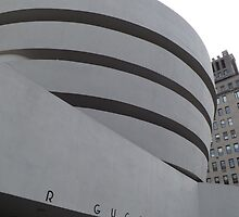 Guggenheim Museum, Frank Lloyd Wright Architect, New York City by lenspiro