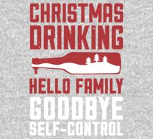 Christmas Drinking Goodbye Self-Control by Look Human