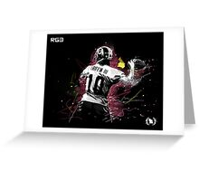 RG III  Greeting Card