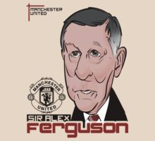 Sir Alex Ferguson by JerseyLuke