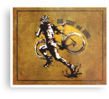 Mud Sweat & Gears Cyclocross  Metal Print