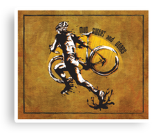 Mud Sweat & Gears Cyclocross  Canvas Print