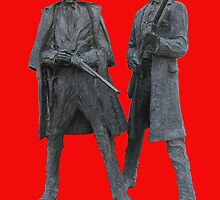Gun Fight at the OKAY CORRAL by DAdeSimone