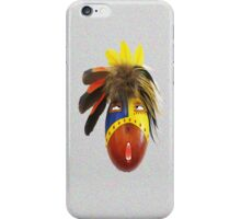 Feathered Gourd Mask iPhone Case/Skin