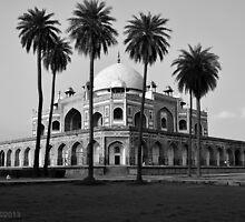Humayun Tomb by Ikramul Fasih