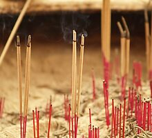 Joss sticks - Singapore by indiafrank