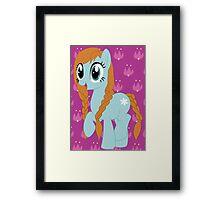 Pony Anna Framed Print