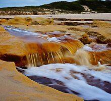 Beach River by D-GaP